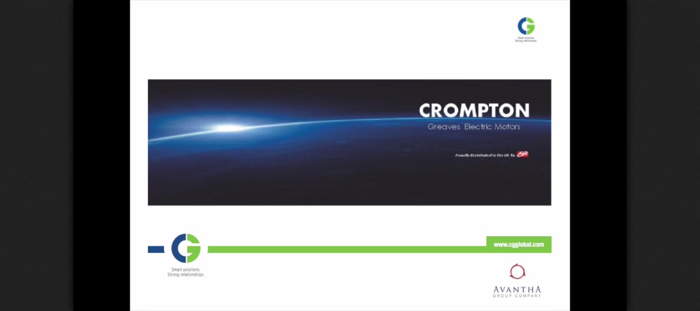 Crompton Greaves Three Phase Electric Motors